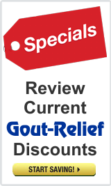 Special limited time discounts on Gout-Relief.