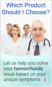Hemorrhoids product comparison and recommendation.